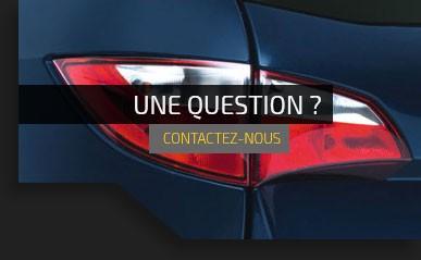Une question? contactez-nous